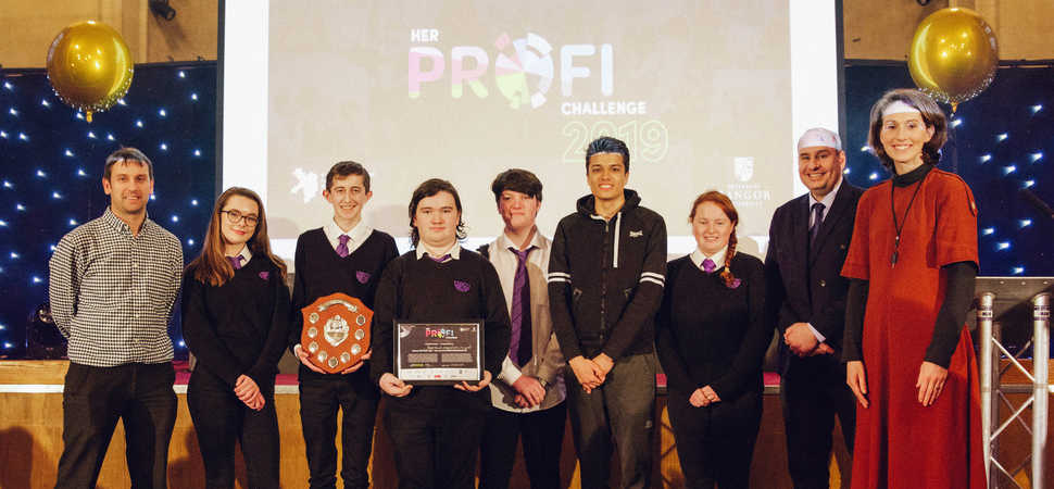 Pupils praised for mental health campaign ideas