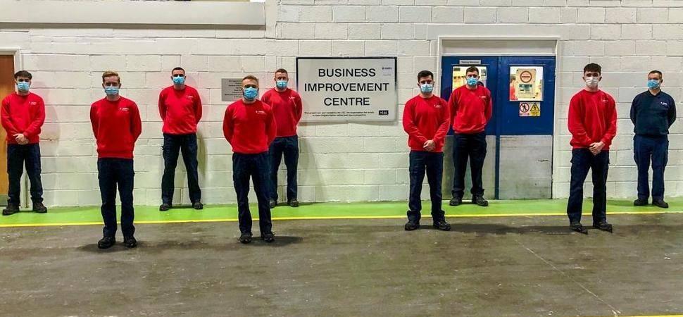 North East tissue manufacturer appoints 15 apprentices after deadline extension