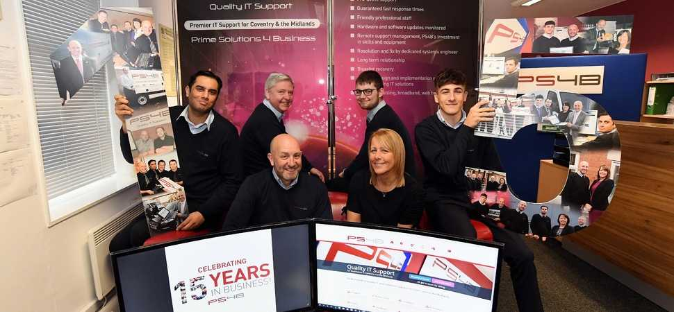 Coventry IT firm celebrates 15 year anniversary