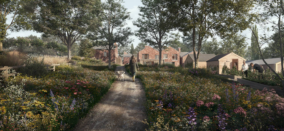 CW Studio designs a landscape masterplan for a new way of living