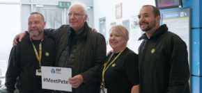 Merseyrail welcomes pop mogul Pete Waterman onto network for regional tour