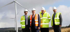 First minister officially opens Pen Y Cymoedd wind energy project