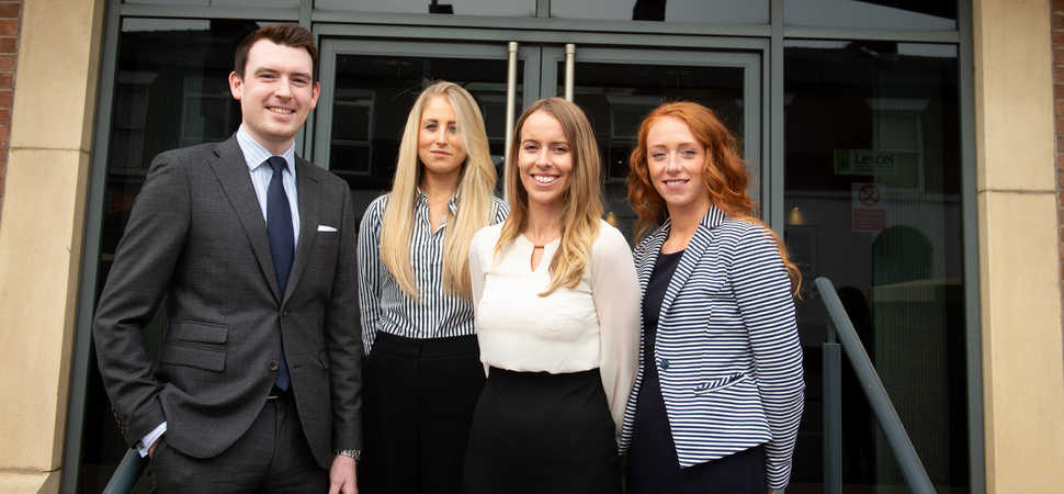 Trainee solicitors graduate to permanent roles at North West law firm