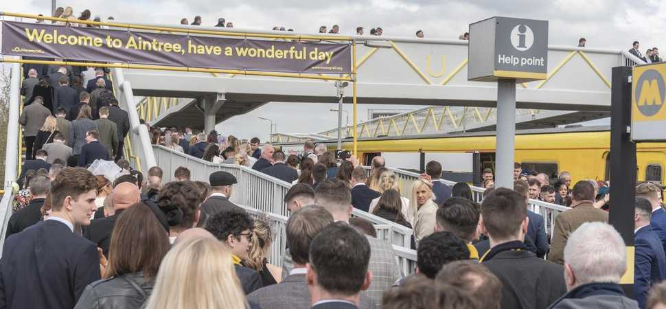 Merseyrail donates to charities following successful Grand National weekend