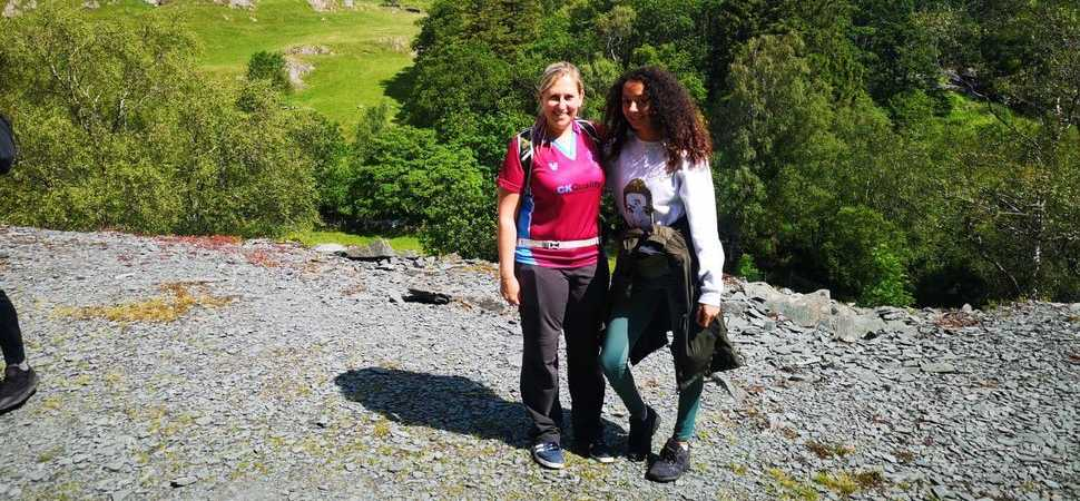 Legal pair go wild in charity challenge