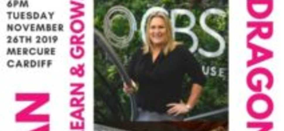 Rachel Bedgood of CBS Named I AM WOMANs First Dragon Patron