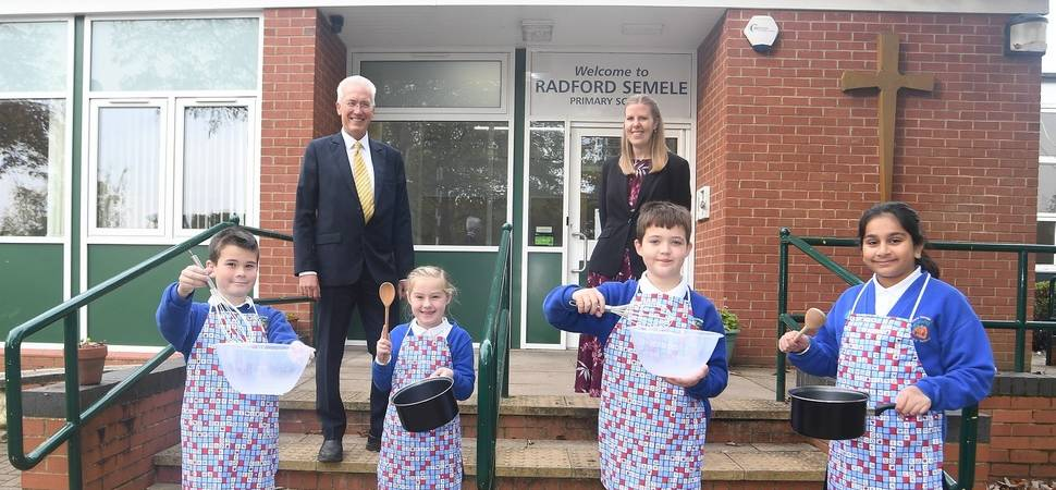 Warwick property business helps pupils learn new skills