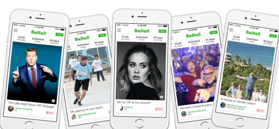 Online raffle platform ask influencers to help charities by raising funds for the NHS