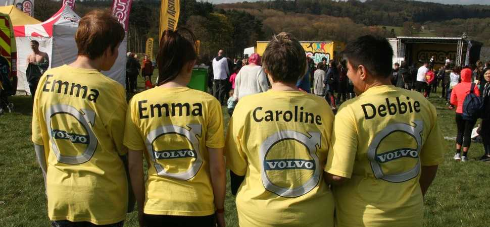 Gung Ho! Local Volvo retailer takes on world's biggest inflatable fun run for charity