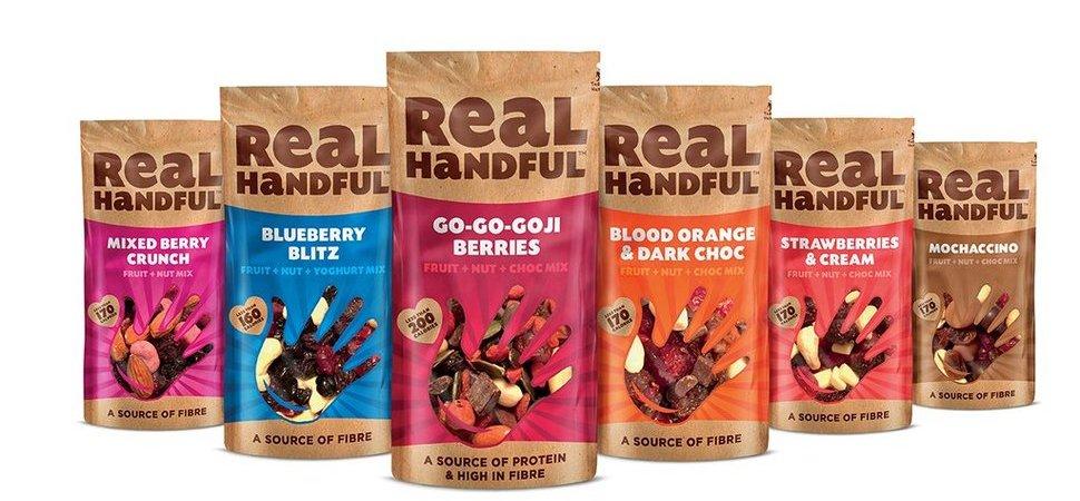 Major Retailers Devour Real Handful Snacks