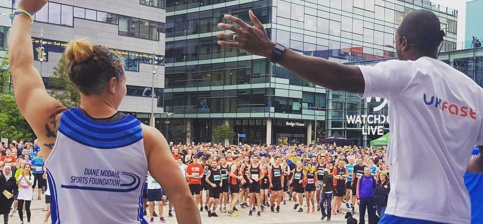 Diane Modahl Sports Foundation named as Official Charity Partner Of Salford 10K