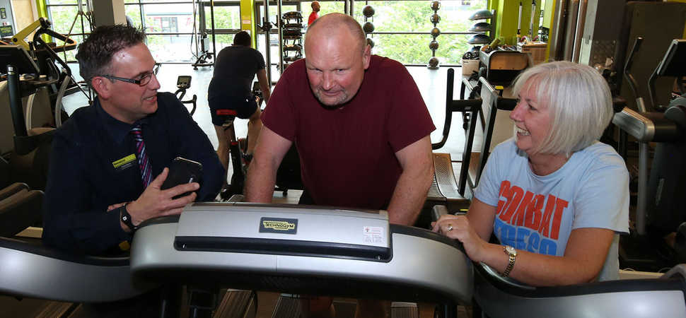 Northern Irish veteran thanks Duncan Bannatyne for health club membership