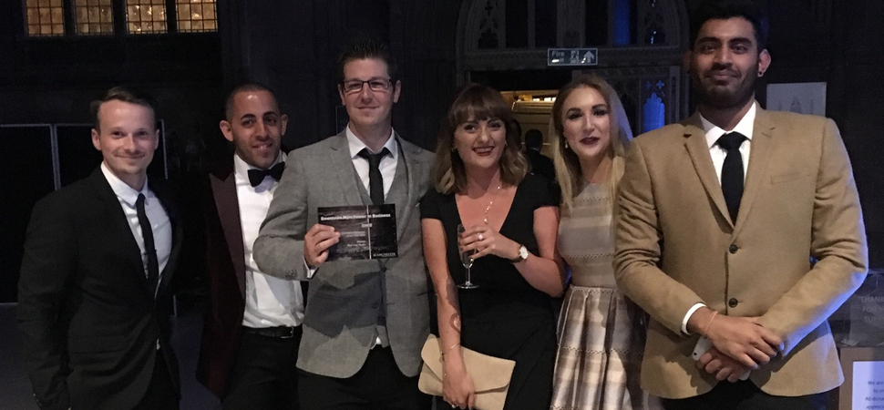 Red Cow Media win City Of Manchester Business Award