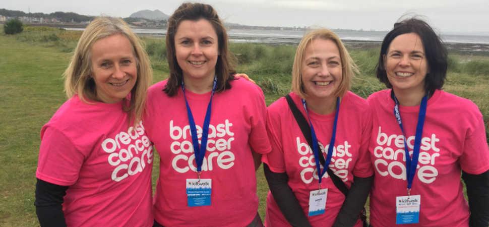 Glasgow managed IT services provider completes Edinburgh Kitwalk for Breast Cancer UK