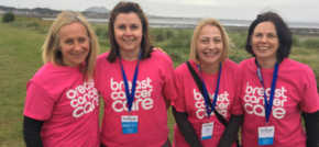Glasgow managed IT services provider completes Edinburgh Kitwalk for Breast Cancer UK