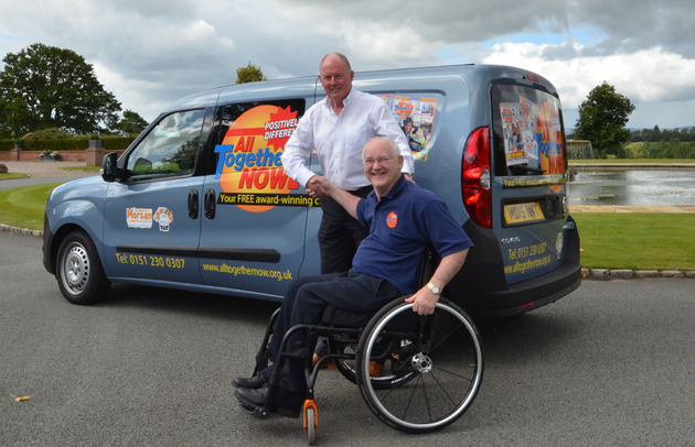 Steve Morgan OBE donates brand new delivery vehicle to Charity