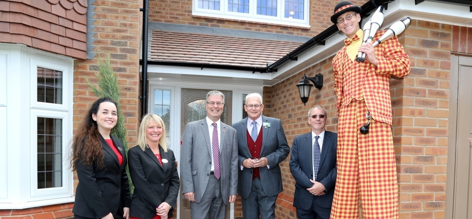 Milestone for garden village in Tamworth