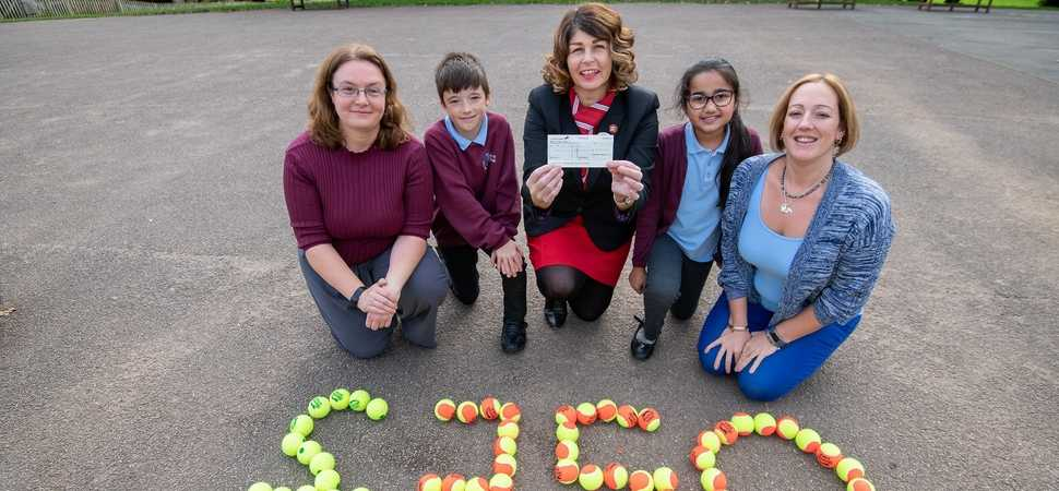 Banbury housebuilder knocks it out of the park for local school