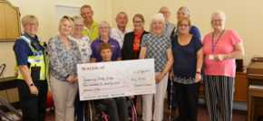 Market Harborough housebuilder supports local stroke group