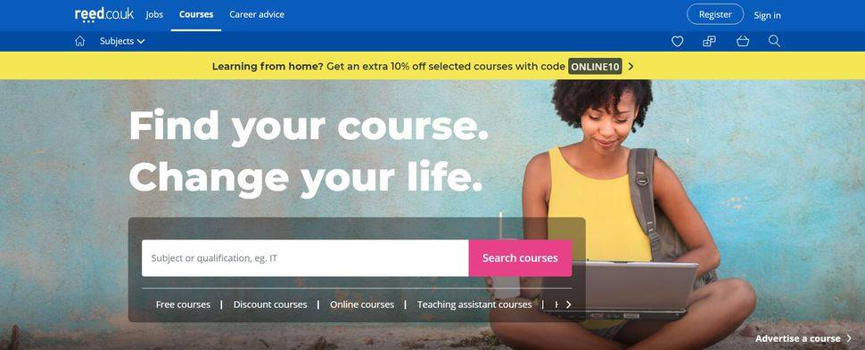 reed.co.uk enables UK home learners to split up course costs with DivideBuy