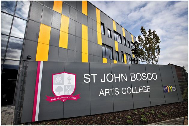 The curtain goes up at the all new St John Bosco Arts College