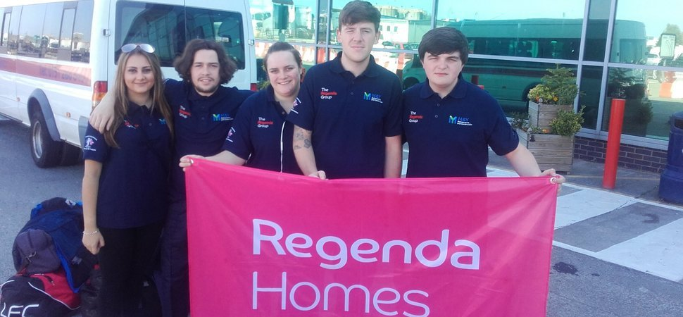 Anchors aweigh - Regenda Group apprentices sail the Irish sea