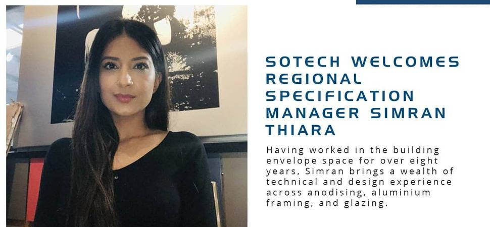 Sotech Welcomes Regional Specification Manager Simran Thiara