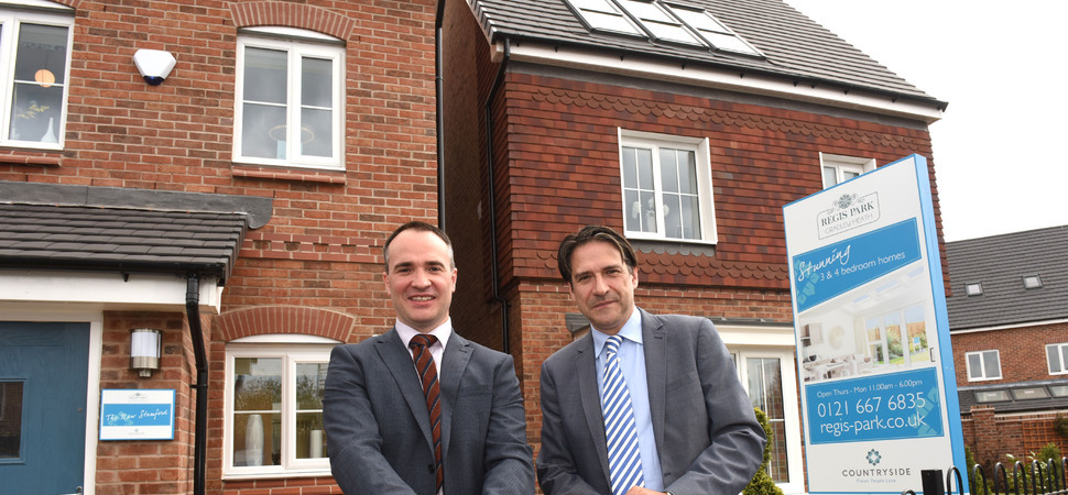 James Morris MP praises new £33.6m Cradley Heath housing development