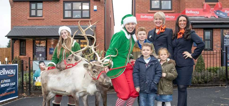 Christmas comes early to Lancashire development