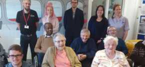 Ipswich care home residents pass on life lessons to younger generation