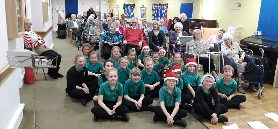 A Christmas Carol - local pupils bring joy to Poole care home residents