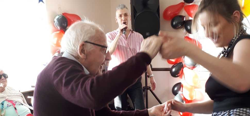Shoreham Care Home residents relive their youth
