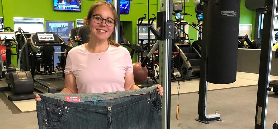 Lowestoft woman on track for 13st weight loss with help from local health club