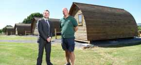 Hot summer results shine on glamping firms business forecast