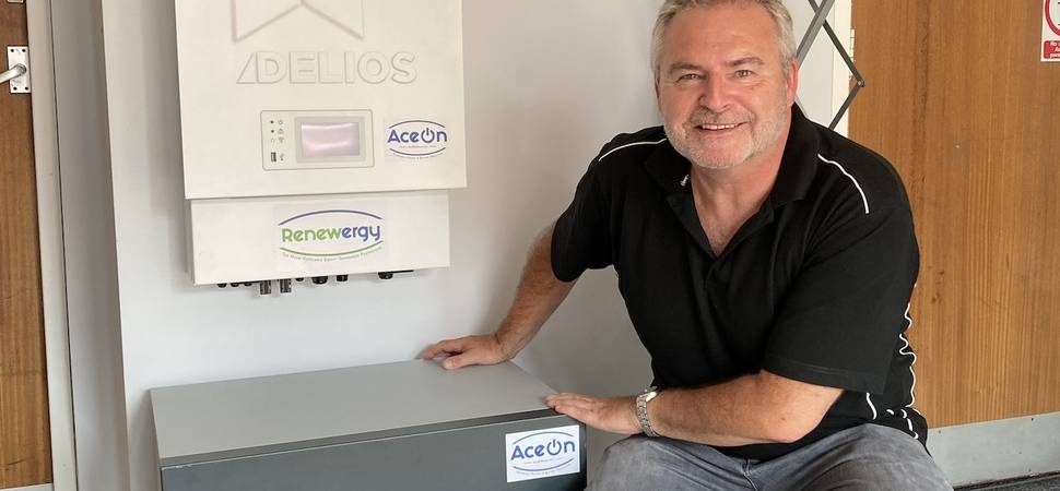 Renewergy generates positive interest for Ace On at Low Carbon Homes events