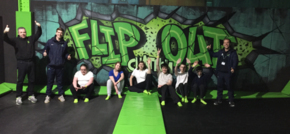 Chatham trampoline park hosts PE classes for Rivermead School