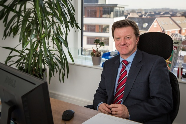 Taking account of Danbro - new finance chief Rob Kenmare