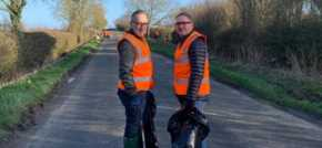 Local business helps collect 134 bags of rubbish in bid to clean up the countryside