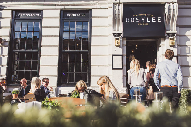 AHOY's rosy rebrand for Manchester Northern Quarter's Rosylee