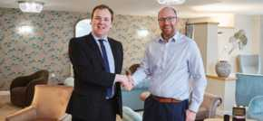 William Wragg MP visits luxury retirement living development in Romiley