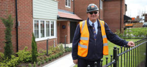 Local building site manager secures a top industry accolade