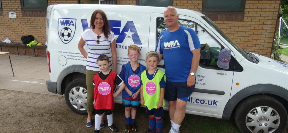 My Next Place nets partnership with Wilmslow Football Academy