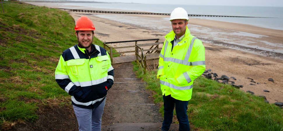 North Sea Link helps rejuvenate coastline at Cambois