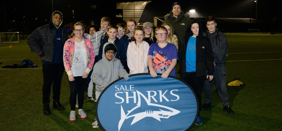 Printerland handmatch tickets to youth charity partners of Sale Sharks