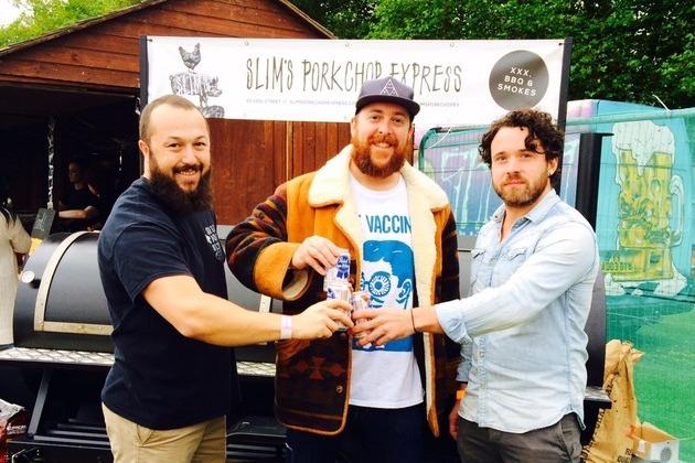 Salt Dog Slims and Slims Pork Chop Express enjoy busiest food festival ever