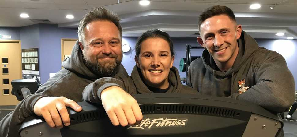 Singer Sam Bailey backs Leicester Childrens Hospital appeal with London Marathon run