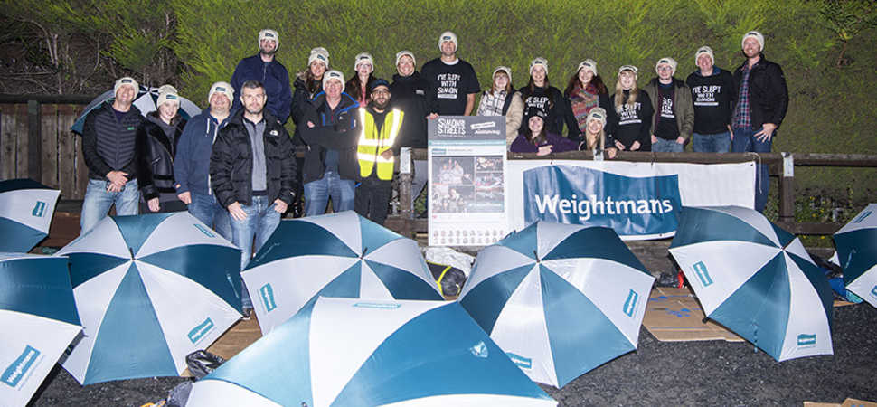 £26,000 raised as 120 bed down on Leeds street for charity sleep-out