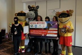 Celebration of Blackpool carers raises £16k - and boosts hanky profits!