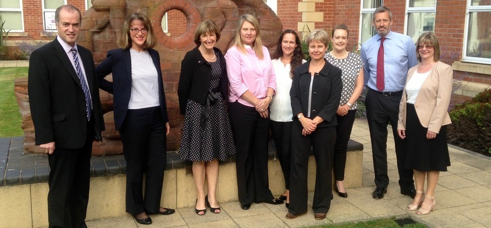 Key post for Sandy Edwards with Shropshire Collaborative Lawyers Group