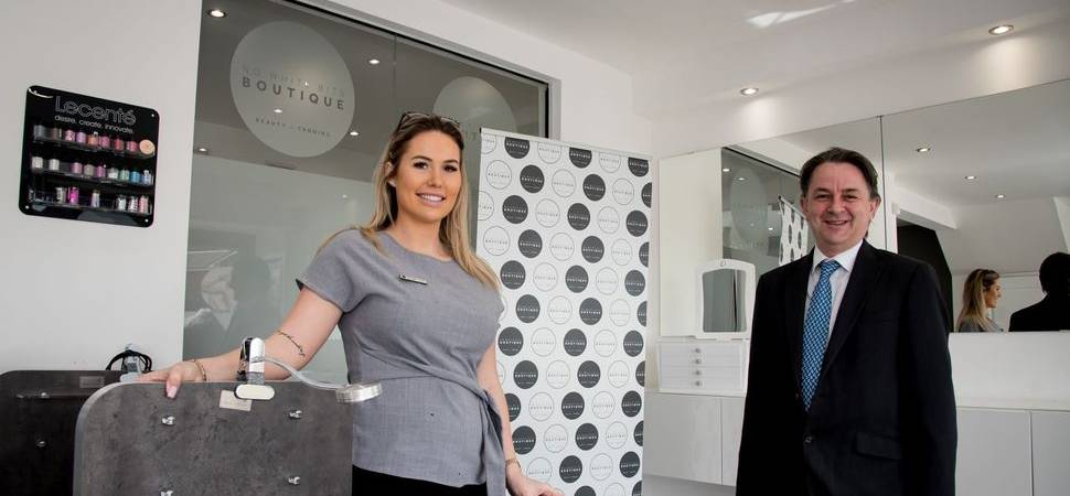 Beauty therapist with a flair for business makes commercial property investment